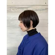 前髪ぱっつん ショートボブ Mag サロンギャラリーマグサロン