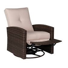 Outsunny Deluxe Reclining Swivel Chair with Cushion & Reviews