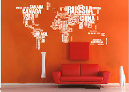world map decoration ideas spaces modern with map wall decor world map wall stickers world map wall vinyl