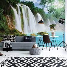 Waterfall Lake Wall Mural