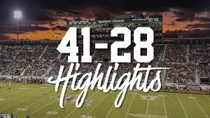 2019 Ucf Football Highlights Ucf 41 Ecu 28