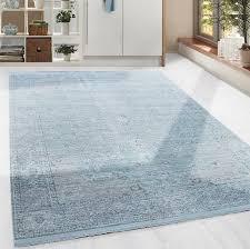 Hochwertiger Teppich In Barock Vintage Stil Mit Ornament Borduere