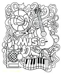 Instrument Coloring Pages Instrument Coloring Sheet Music Coloring