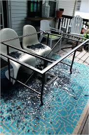 replacement glass table top replacement glass table tops design collected society patio table top tutorial after