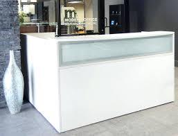 desk workstation reception desks oval furniture for half round counter design sa