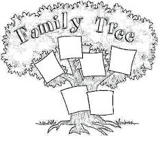 Drawing A Family Tree Template Blank Family Tree Template Examples For Kids C Struct