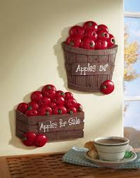 apple decorations for the kitchen 11963