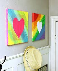 put it too good use with this easy canvas art idea source hi sugarplum painting ideas