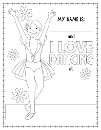 Get Free Printable Dance Coloring Pages Ballroom Dancing