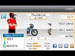 game drag racing mod motor indonesia fino supra youtube