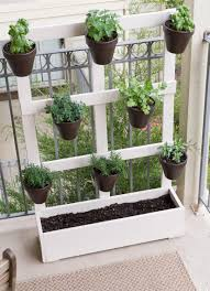 picture of diy vertical wooden balcony garden 3