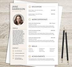 Photoshop Resume Template Amazing Resume Template Resume Cover Letter Template Resume Template For