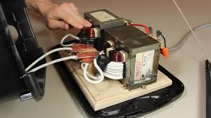 diy stick welder from old microwave parts  hacks mods circuitry