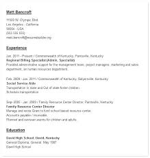 Targeted Resume Template Tongue And Quill Resume Template