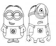 You can play minions coloring book in your browser for free. Minion Coloring Pages To Print Minion Printable