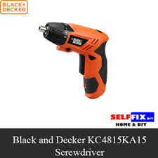 black and decker tools. 【black and decker】 kc4815ka15 screwdriver 4.8v black decker tools t