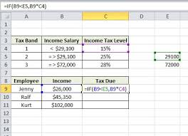 Excel Formula Help Nested If Statements For Calculating Employee