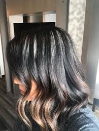 dye strip technique to go gray