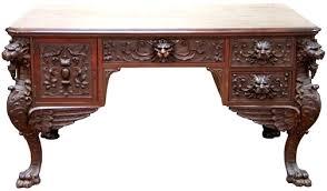 antique desk furniture uk. desk: antique empire oval oak library table desk reproduction office furniture uk h