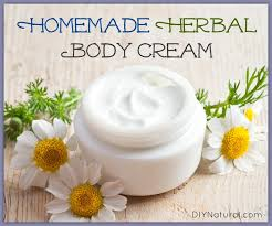 homemade body lotion made with simple