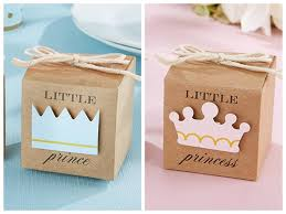 2016 Baby Shower Favors Of Little Prince Kraft Favor Boxes For Boxes For Baby Shower Favors