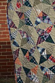 94 best Quilts for guys images on Pinterest | Crafts, Shirt and ... & thrifted quilts are just the best, in the spirit of patchwork Adamdwight.com