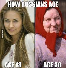 how russians age