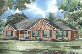 Traditional Ranch House Plan   Three Bedrooms   Plan         House Plan