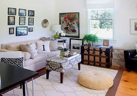 View in gallery Modern eclectic country living room