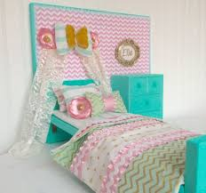 Bow & Banner American girl doll bedroom set 18 doll by Head2Heart ...