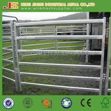 Metal farm fence Diy Galvanized Metal Fence Panels For Sheep Cattle Horse And Livestocks Galvanized Metal Fence Panels For Sheepcattlehorse And Livestocks