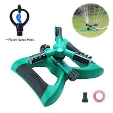 Garden Sprinkler System Design Classy Morfone Lawn Sprinkler Automatic 48° Rotating Adjustable Garden