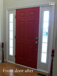 inside front door colors. Interior Front Door Colors Home Ideas Inspiring Painting Red Contemporary Fresh Inside Y
