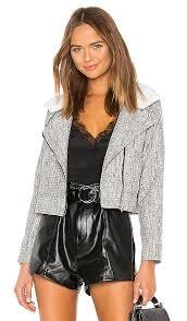aubrey faux fur jacket