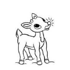 Small Picture Rudolph The Red Nosed Reindeer Coloring Pages Free Coloring