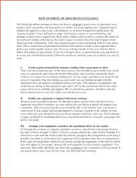 how do i start an essay argumentative essays argument