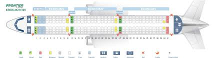 737 Max 200 Seating Chart Frontier Airlines Fleet Airbus A321 200 Details And Pictures