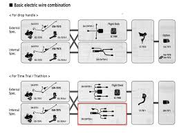 shimano shimano (tt tri controls cable) di2 wire kit sm ew79a i Shimano Di2 Wiring-Diagram at Tri Bike Di2 Wiring Diagram