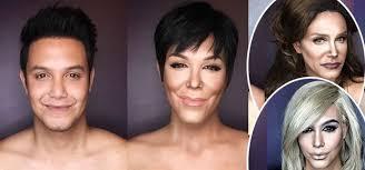 paolo ballesteros transforms into the kardashian jenner crew insram