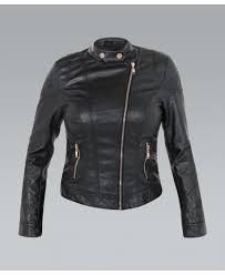 asymmetric zip plus size biker jacket