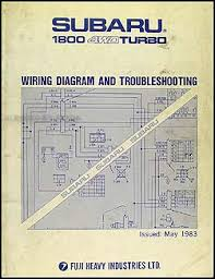 watch more like subaru brat manual 1983 subaru 1800 4wd turbo wiring and troubleshooting manual original