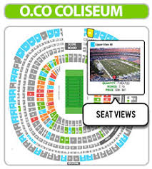 Oracle Arena Seating Chart Raiders Conclusive Oakland Raiders Tickets Seating Chart Agganis