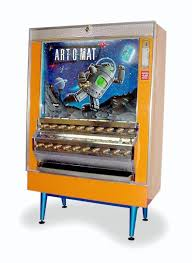 Old Cigarette Vending Machine Fascinating Artomat Retired Cigarette Vending Machines Converted To Sell Art
