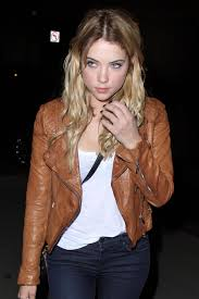 more pics of ashley benson leather jacket 3 of 9 ashley benson lookbook stylebistro