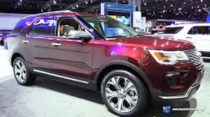 2018 ford autos.  Autos 2018 Ford Explorer  Exterior And Interior Walkaround 2017 New York Auto  Show To Ford Autos O