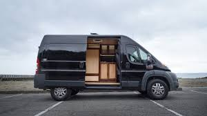 Converted Vans Hybrid Live Work Van Conversion By Pro Woodworker Youtube