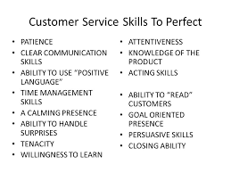 Customer Service Orientation Skills Customer Service Skill And Ability Www Picsbud Com