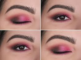 mac azalea blush makeup look pink hot fuchsia eyeshadow lips lipstick