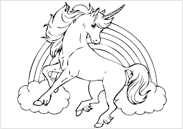 Free online free activities unicorn coloring pages coloring sheets for preschools, worksheets, clip art. Coloring Pages Unicorn Coloring For Kids By Number Free Online