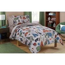 mainstays kids camping bed in a bag bedding set  walmartcom